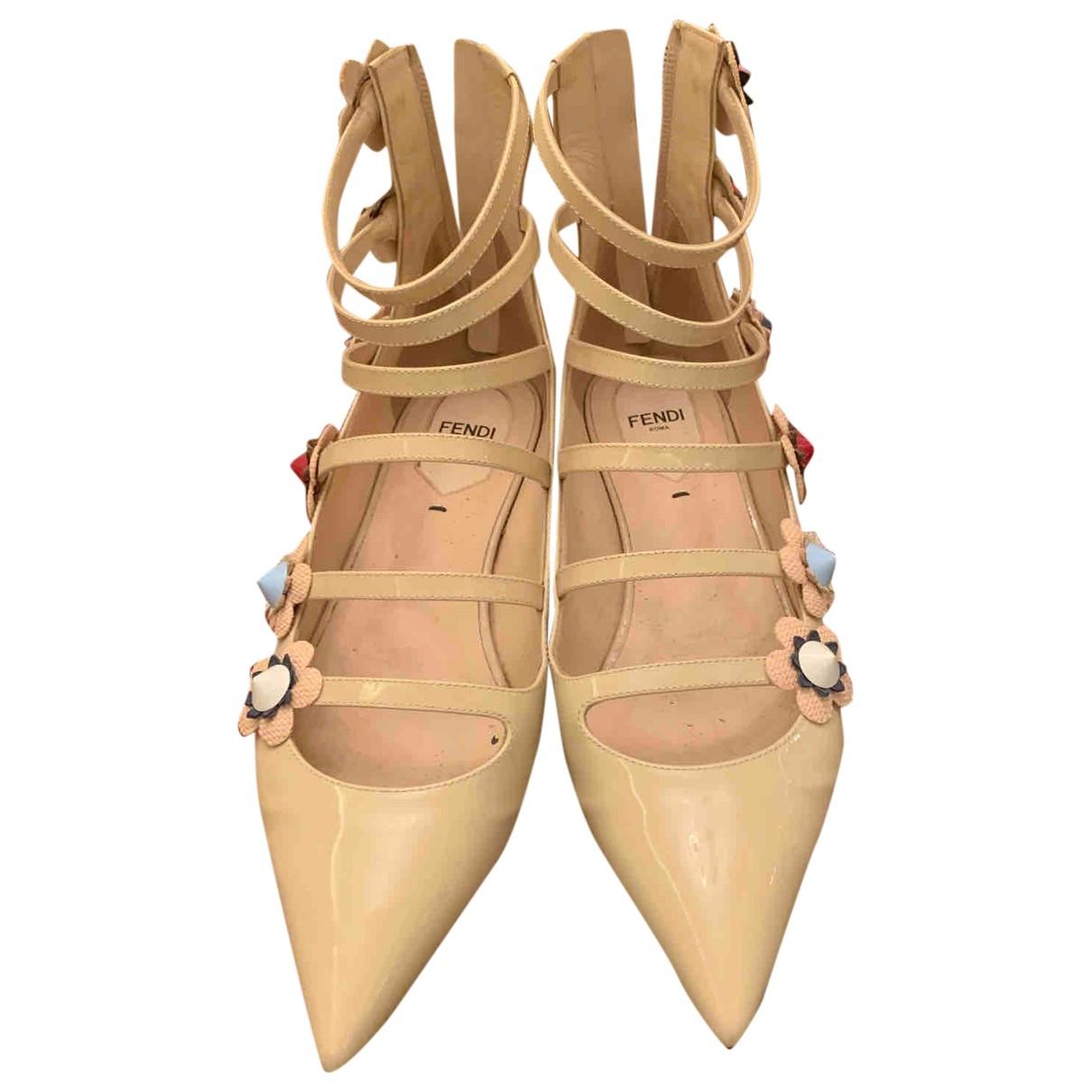 Bailarinas de Charol Fendi