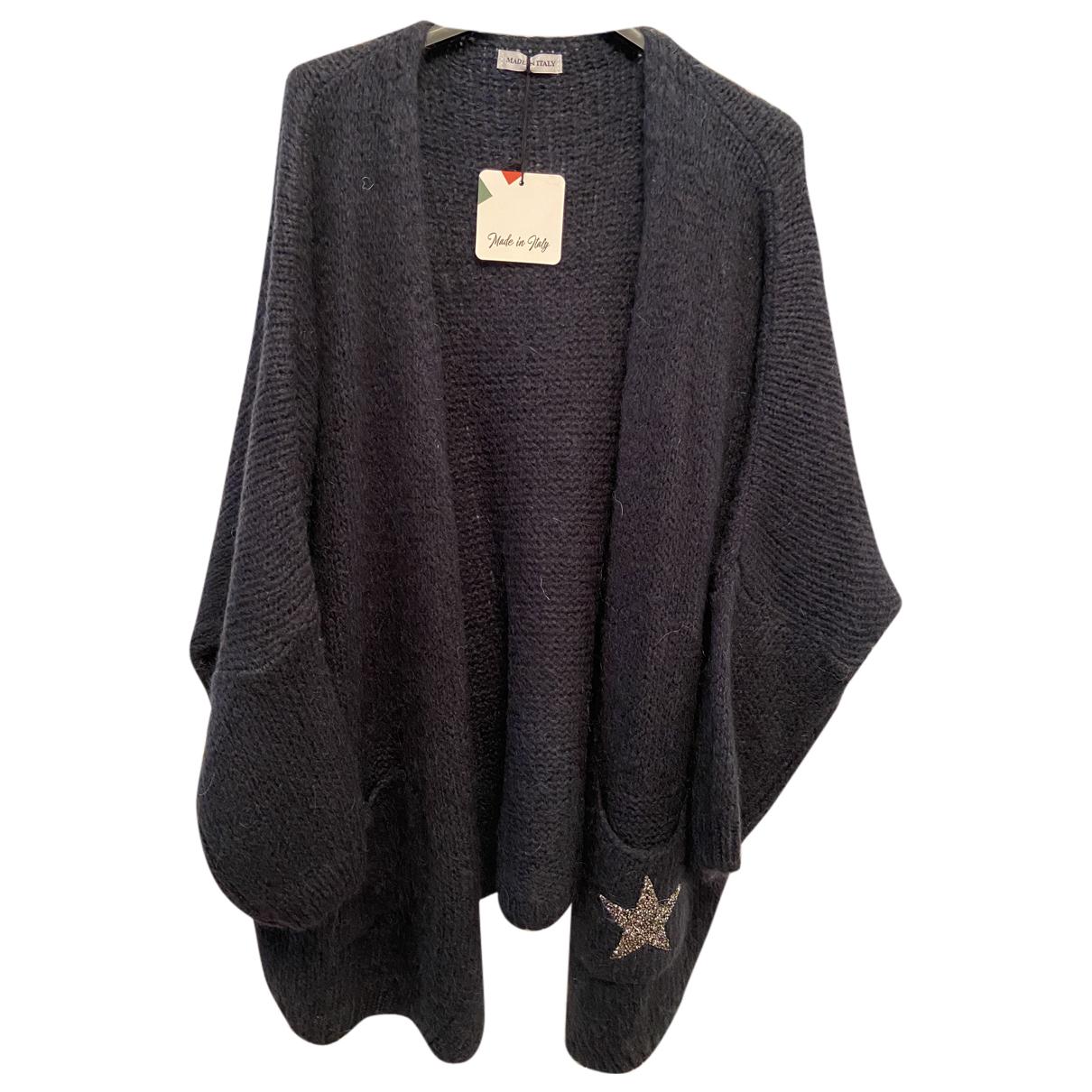 - Pull Oversize pour femme en laine - bleu