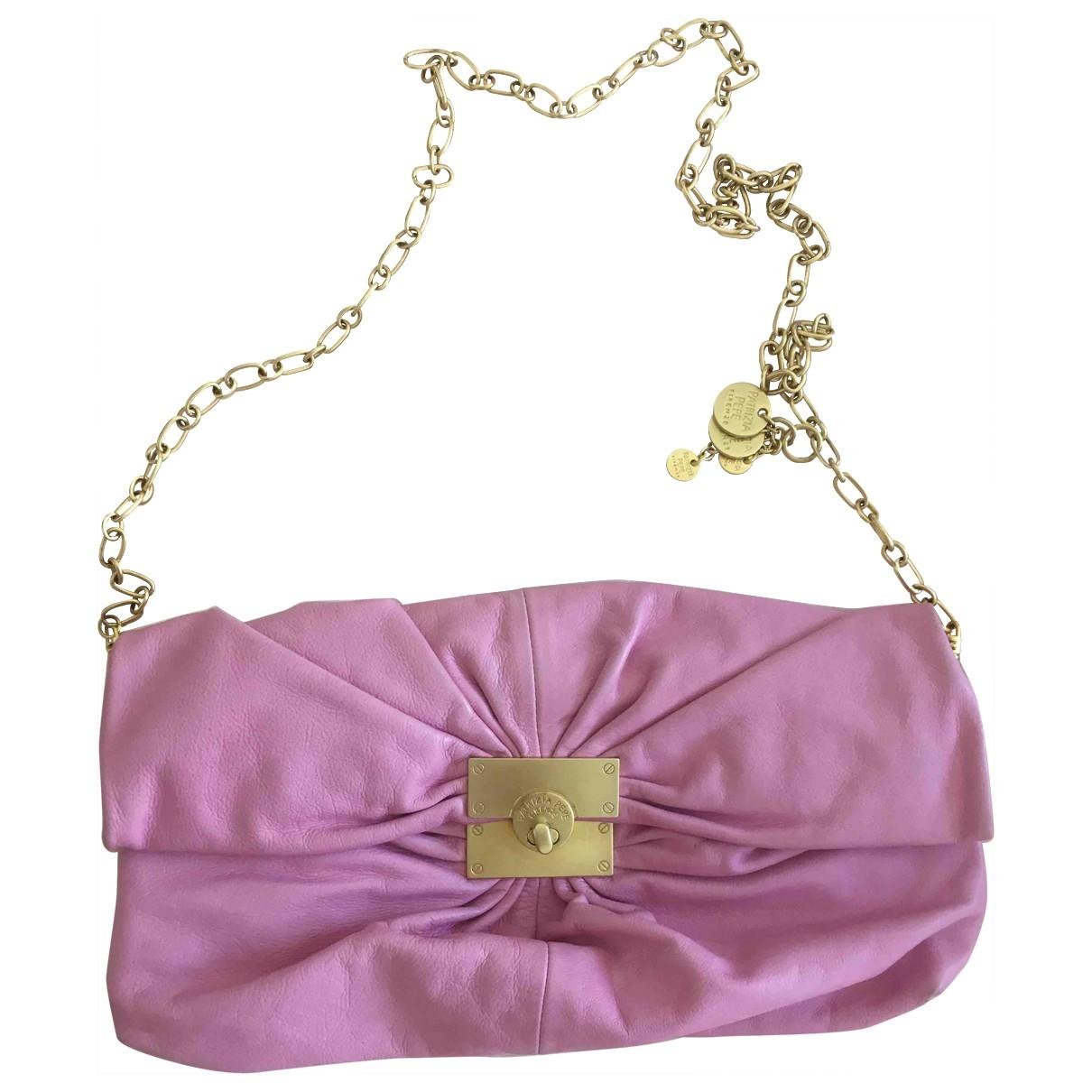 Patrizia Pepe \N Pink Leather handbag for Women \N