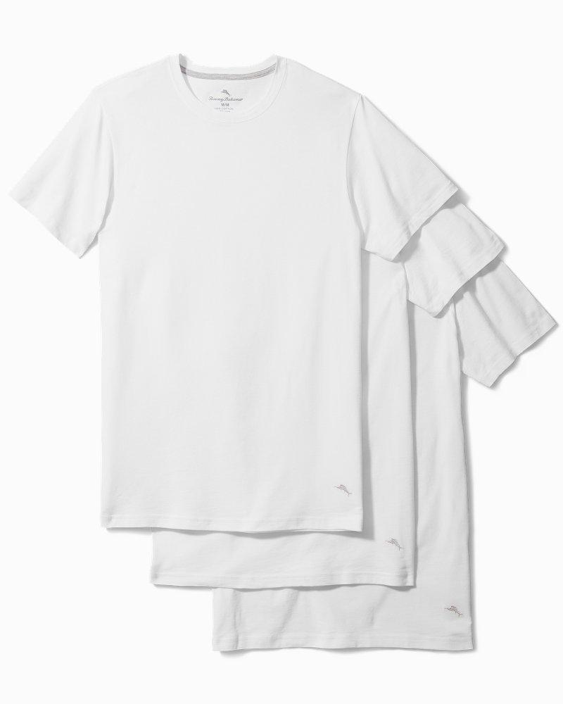 Jersey Crewneck Undershirts - 3-Pack