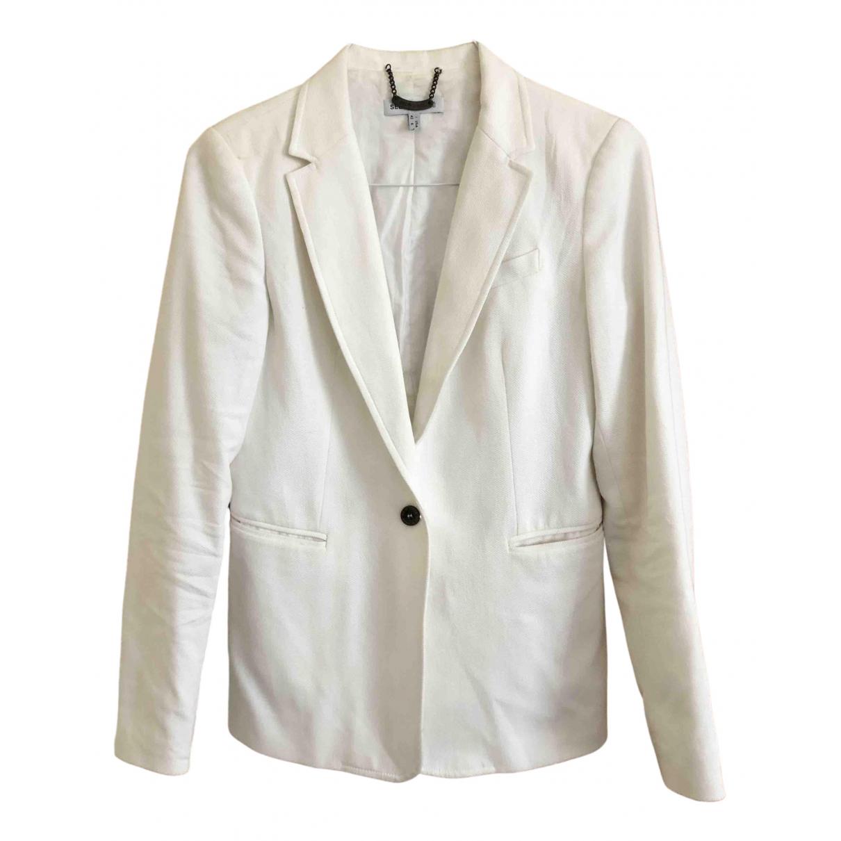 See By Chloe - Veste   pour femme en coton - blanc