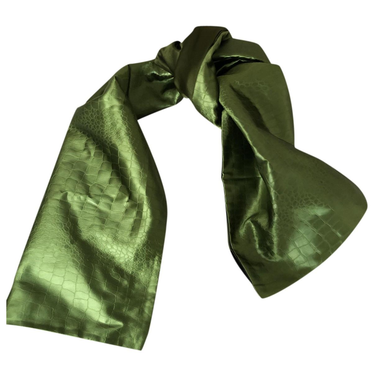 Genny - Foulard   pour femme en soie - vert