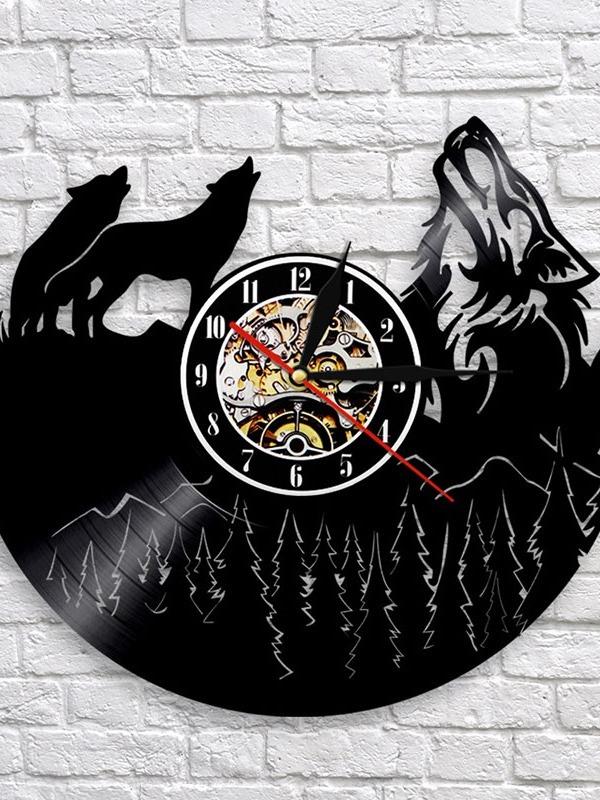 Ericdress Animal Separates Wall Clocks