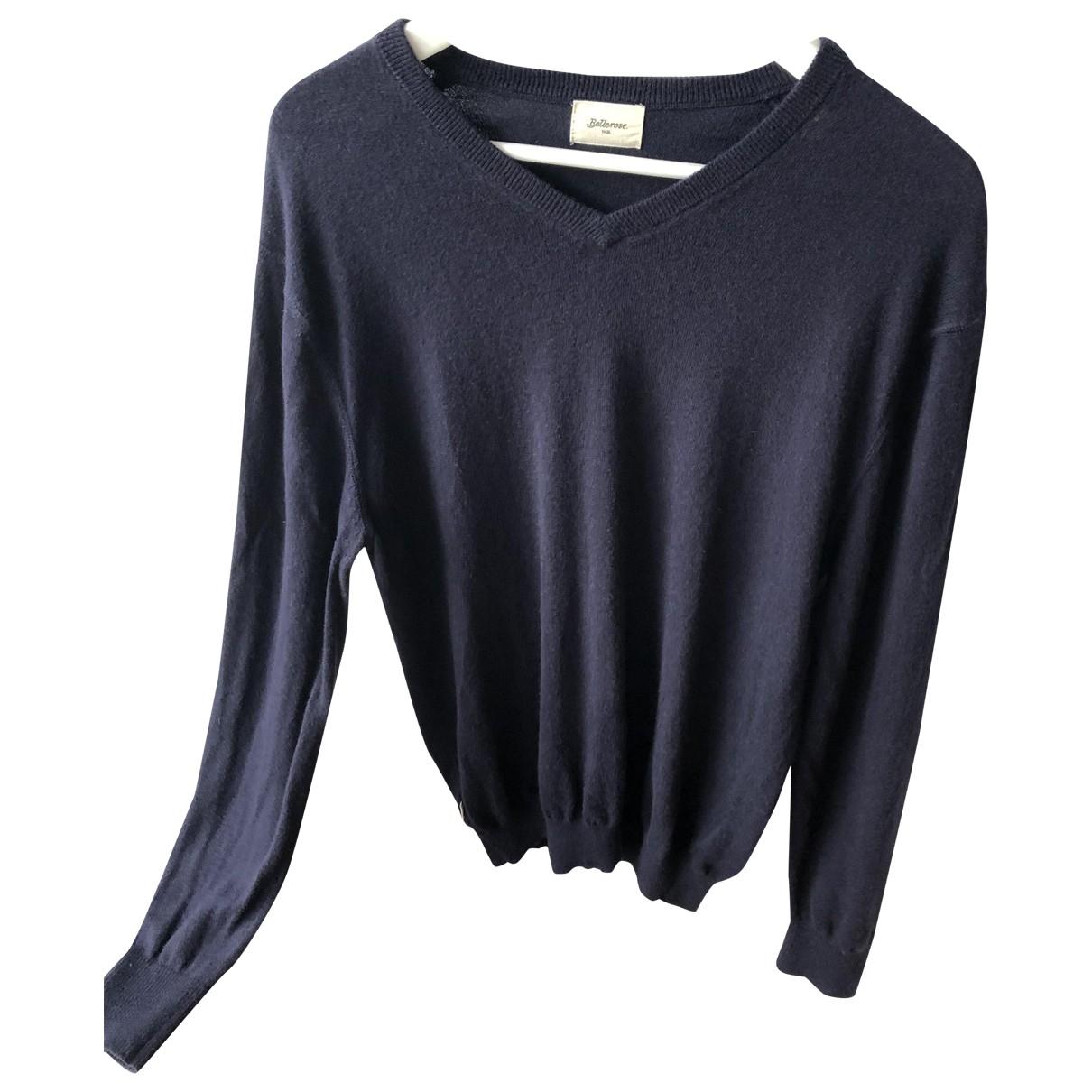 Bellerose \N Blue Wool Knitwear & Sweatshirts for Men L International