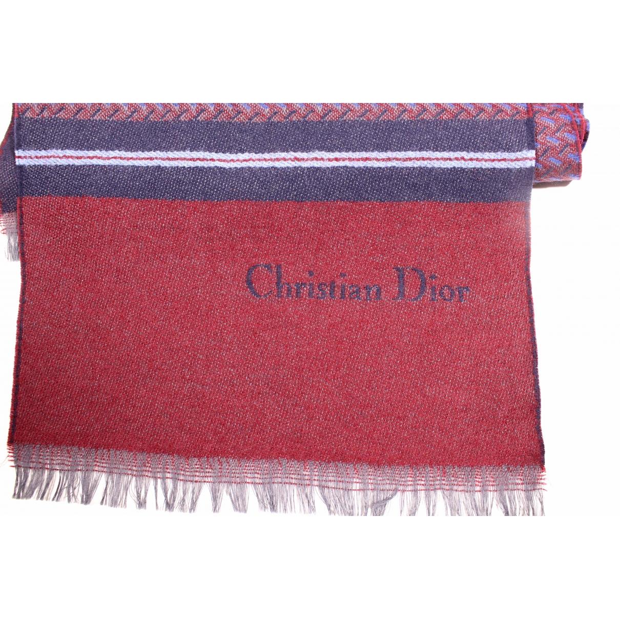 Dior \N Tuecher, Schal in Wolle
