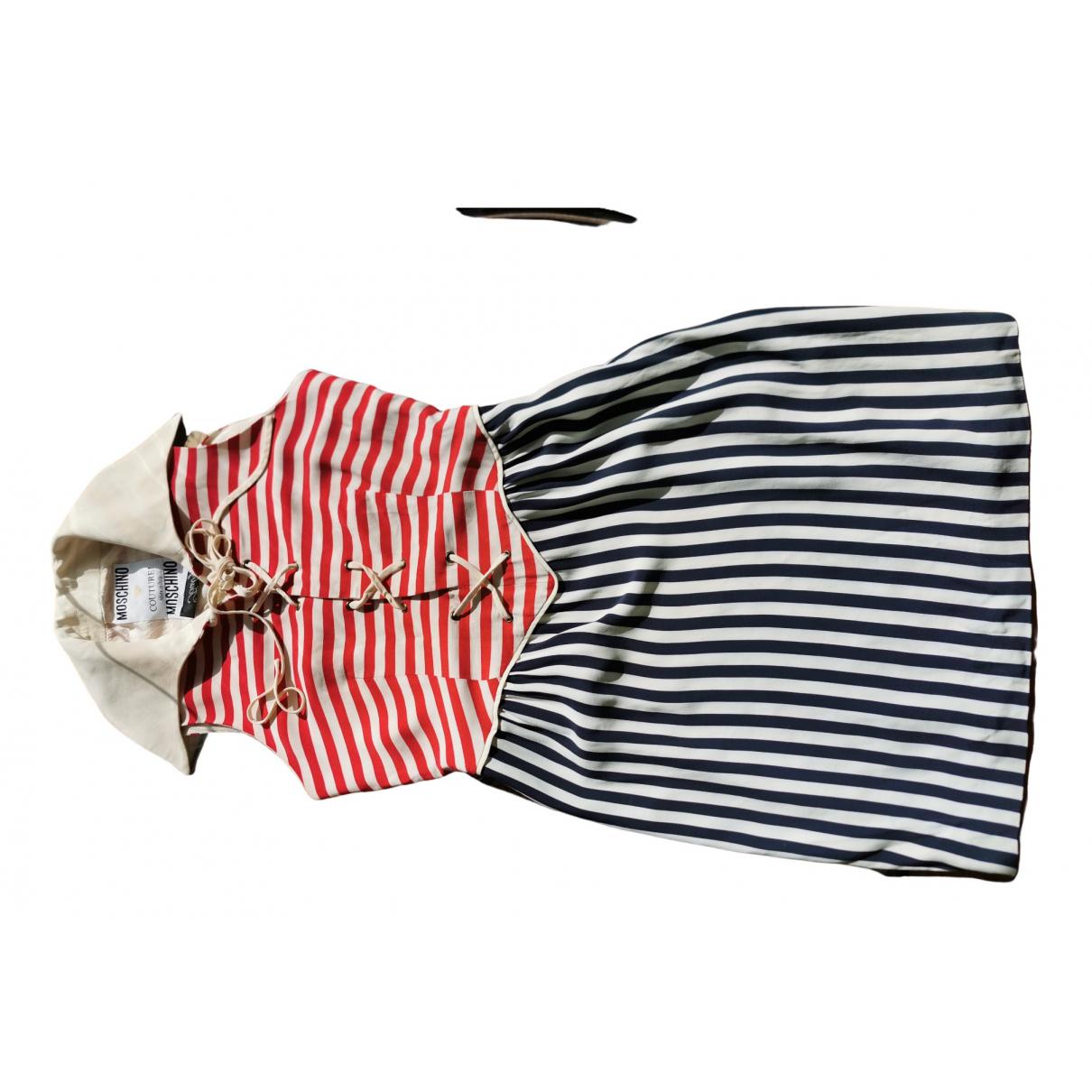 Moschino - Robe   pour femme - multicolore