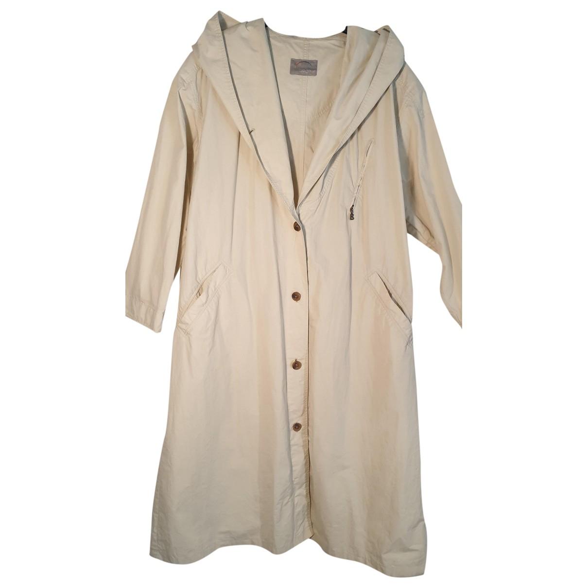 Bogner - Manteau   pour femme en coton - ecru