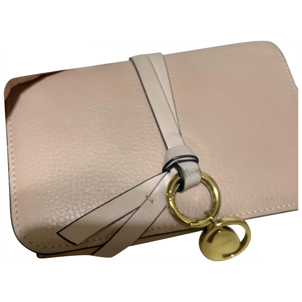 Chloé \N Beige Leather wallet for Women \N