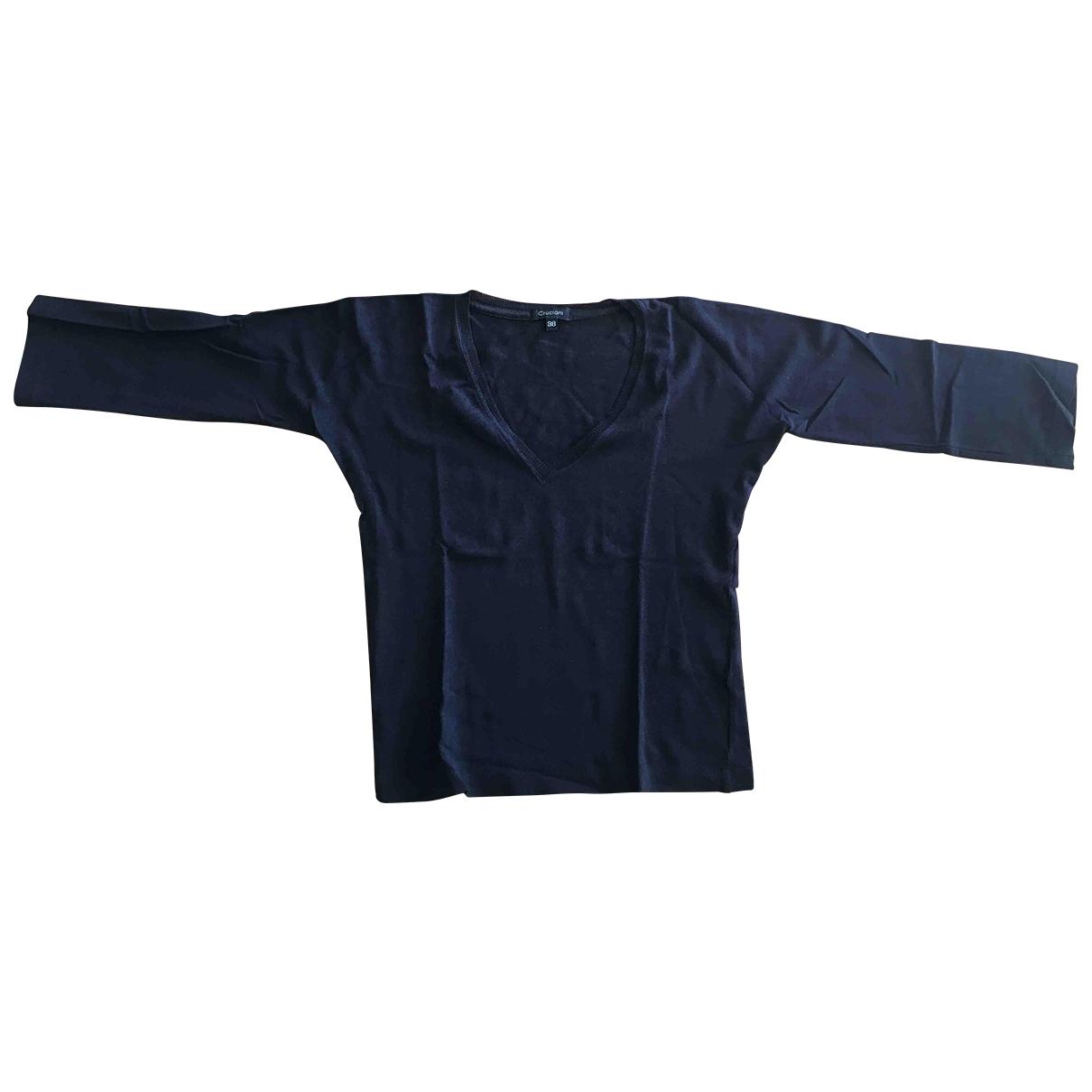 Cruciani - Pull   pour femme en coton - noir