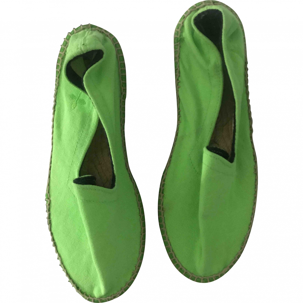 Manebi \N Green Cloth Espadrilles for Women 37 EU