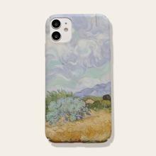 1 Stueck iPhone Schutzhuelle mit Olgemaelde Muster