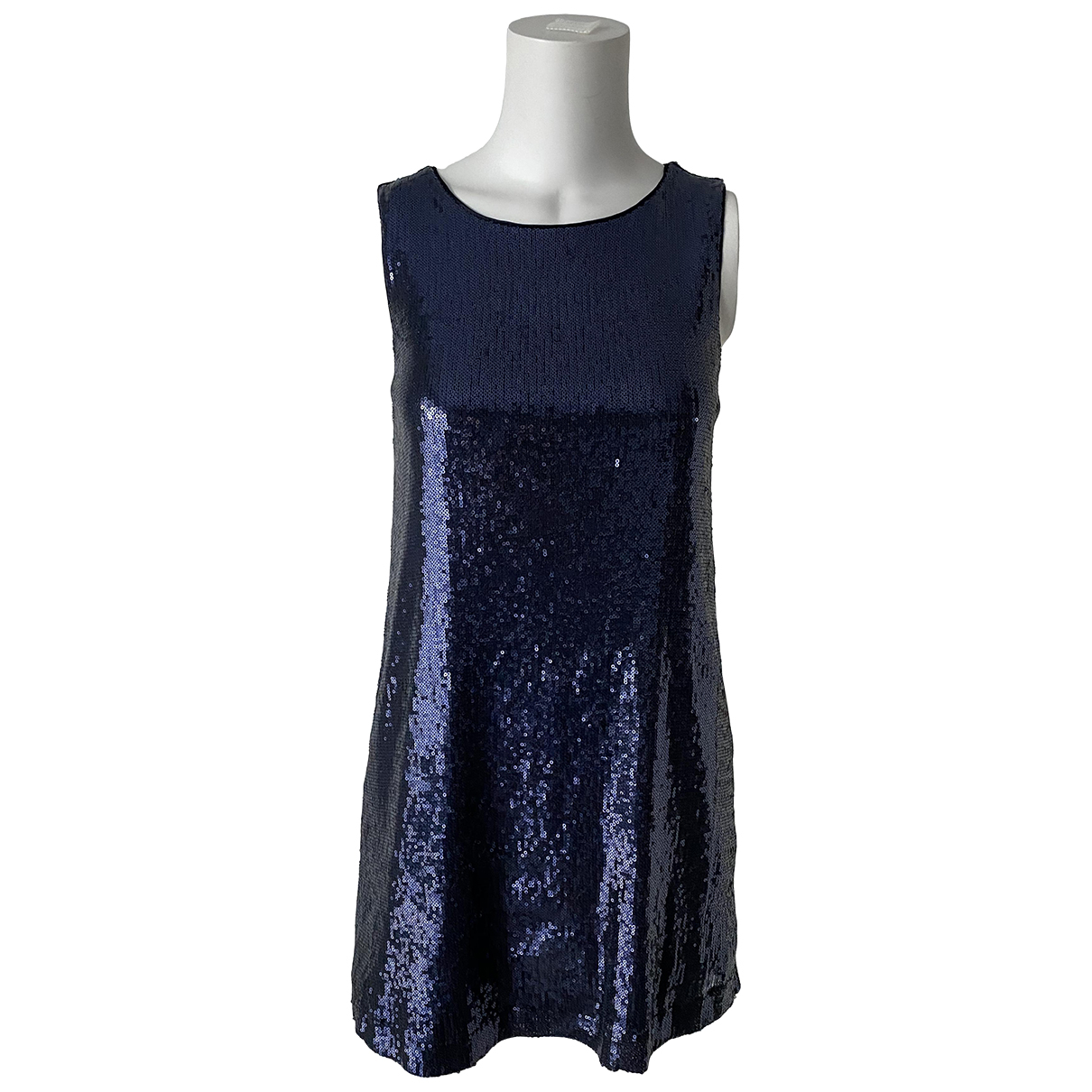 Jean Paul Gaultier \N Kleid in  Marine Mit Pailletten