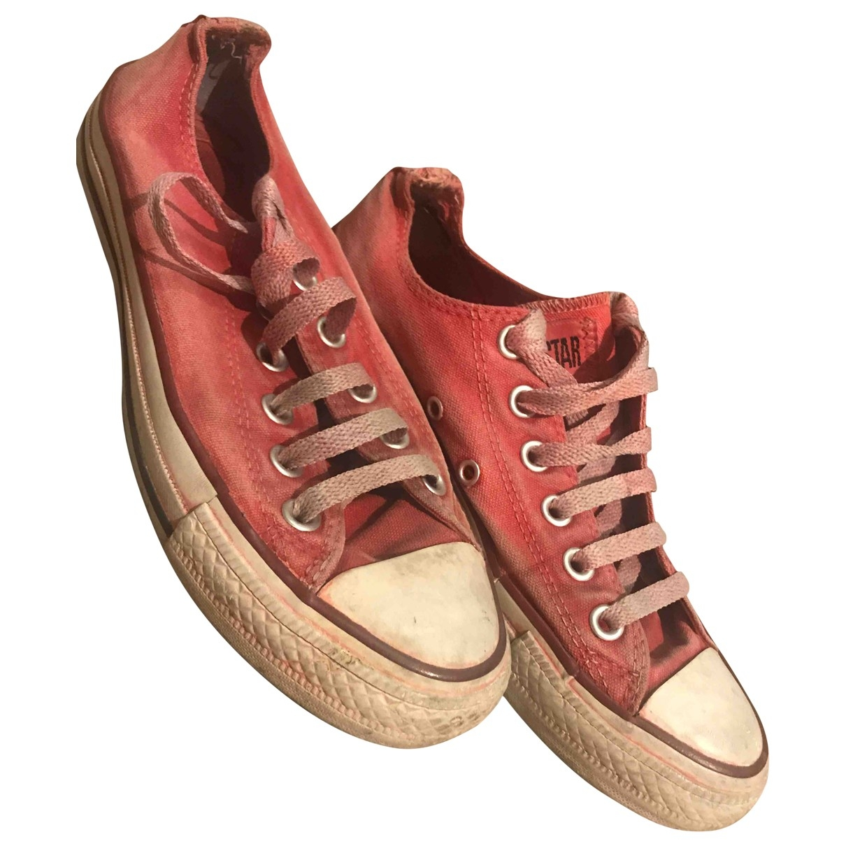 Converse \N Red Cloth Trainers for Women 37.5 EU