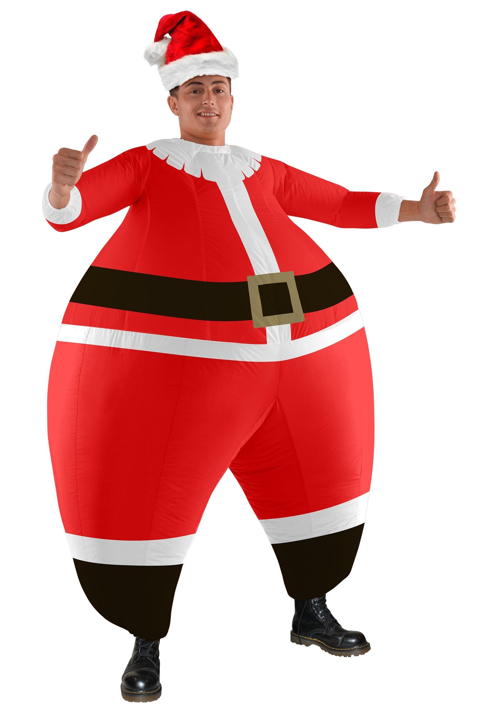 Funny Adult Santa Bouncer Costume