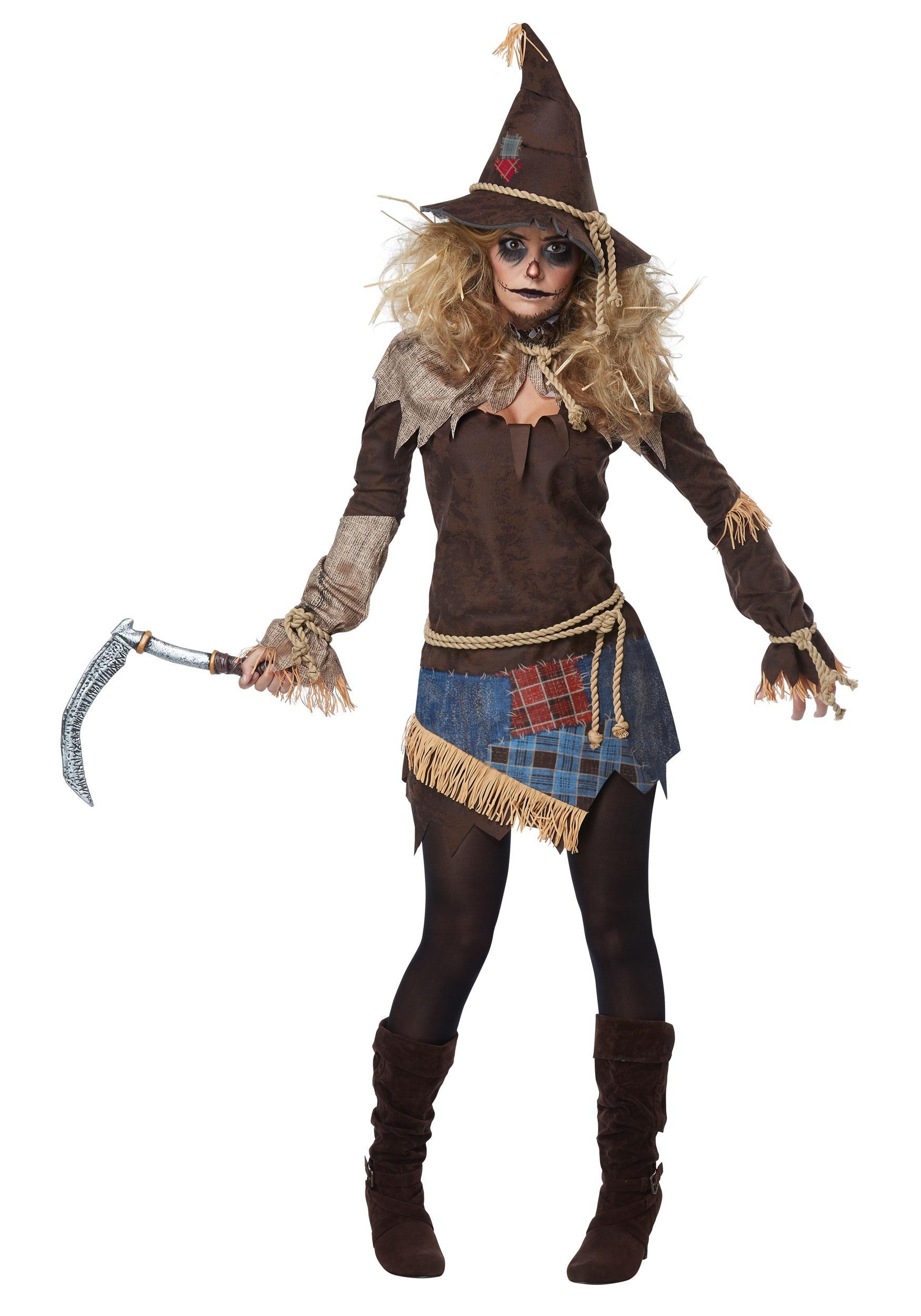 Creepy Scarecrow Costume for Women
