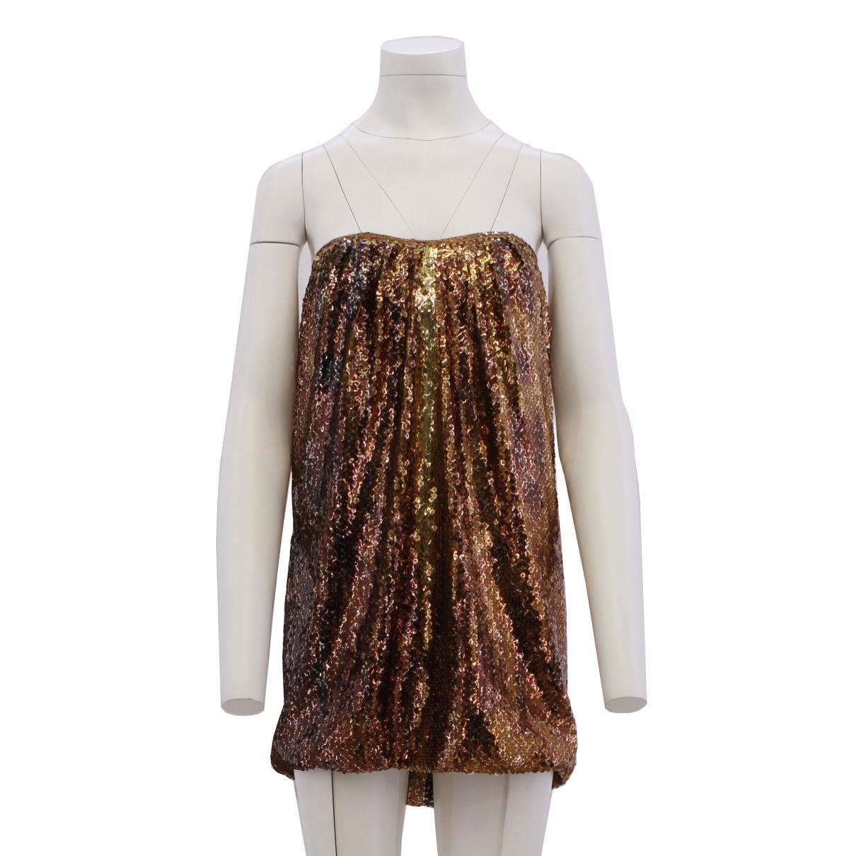 Jay Ahr \N Gold Glitter dress for Women S International