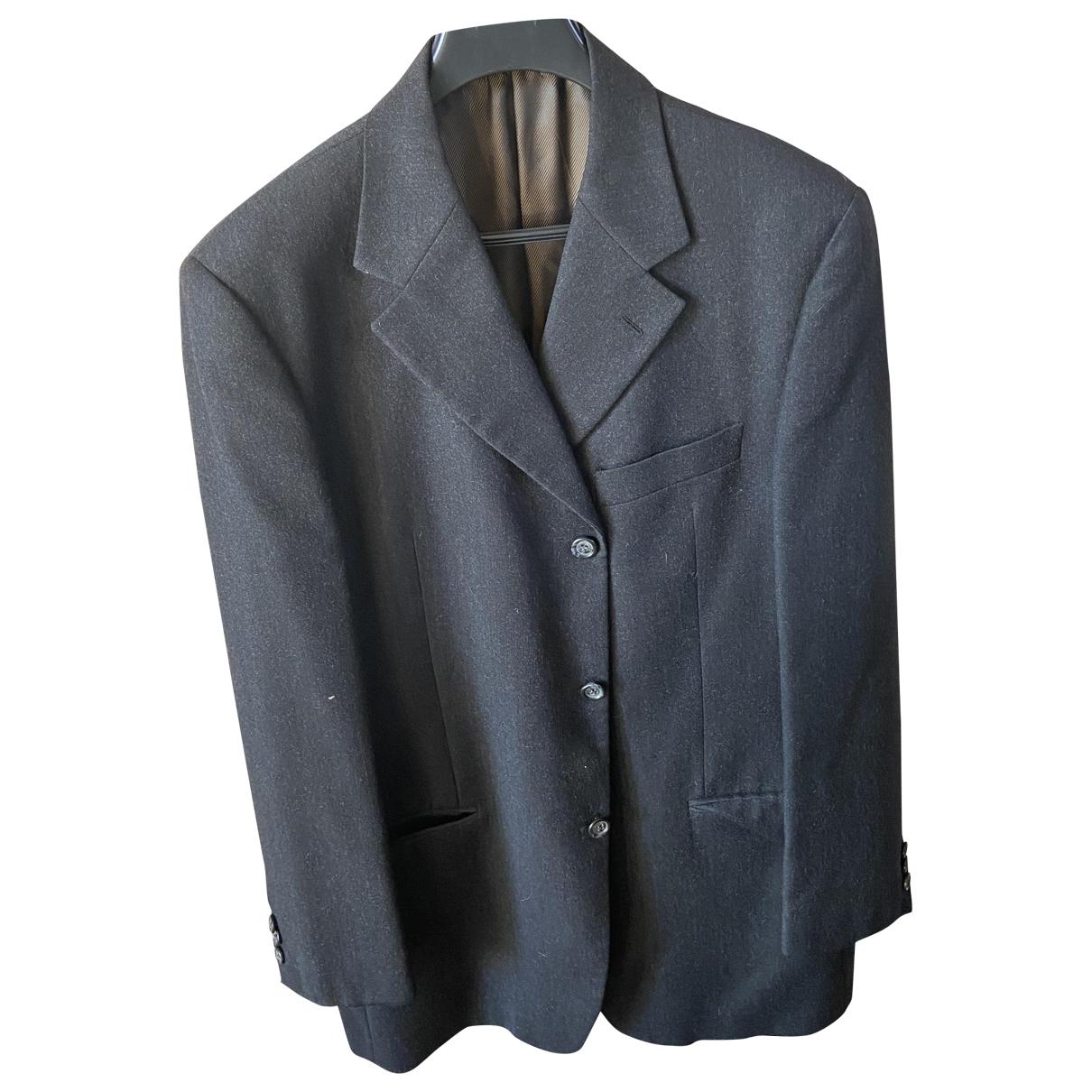 Cerruti - Vestes.Blousons   pour homme en laine - bleu