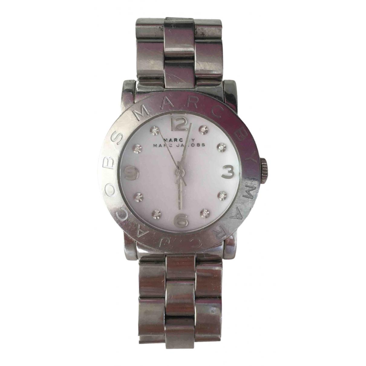 Marc By Marc Jacobs \N Silver Steel watch for Women \N