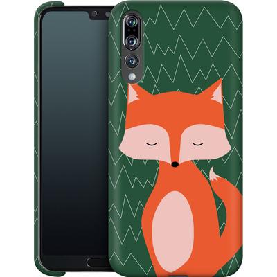 Huawei P20 Pro Smartphone Huelle - Fox on Green von caseable Designs