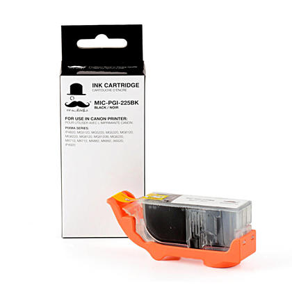 Compatible Canon PIXMA iX6520 Pigment Black Ink Cartridge by Moustache, Standard Yield