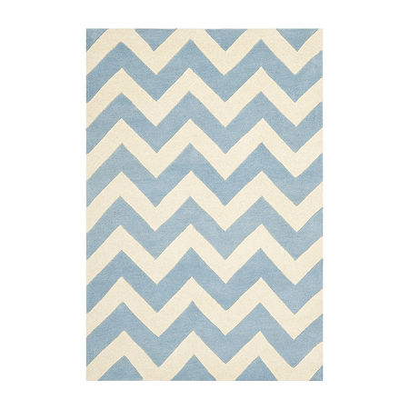 Safavieh Darrell Chevron Area Rug, One Size , Blue