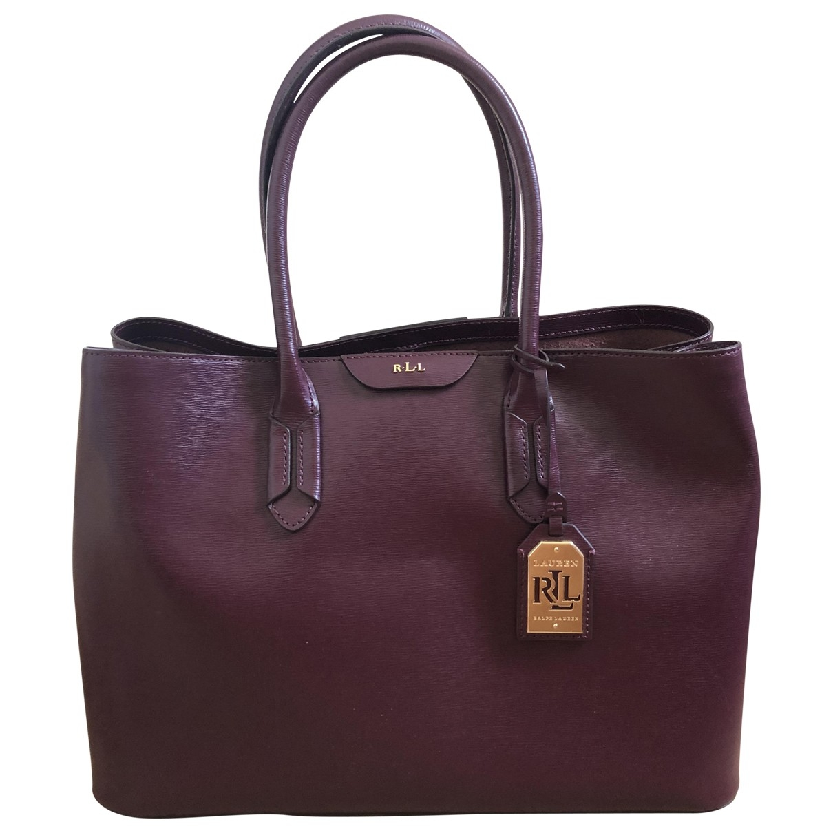 Lauren Ralph Lauren \N Burgundy Leather handbag for Women \N