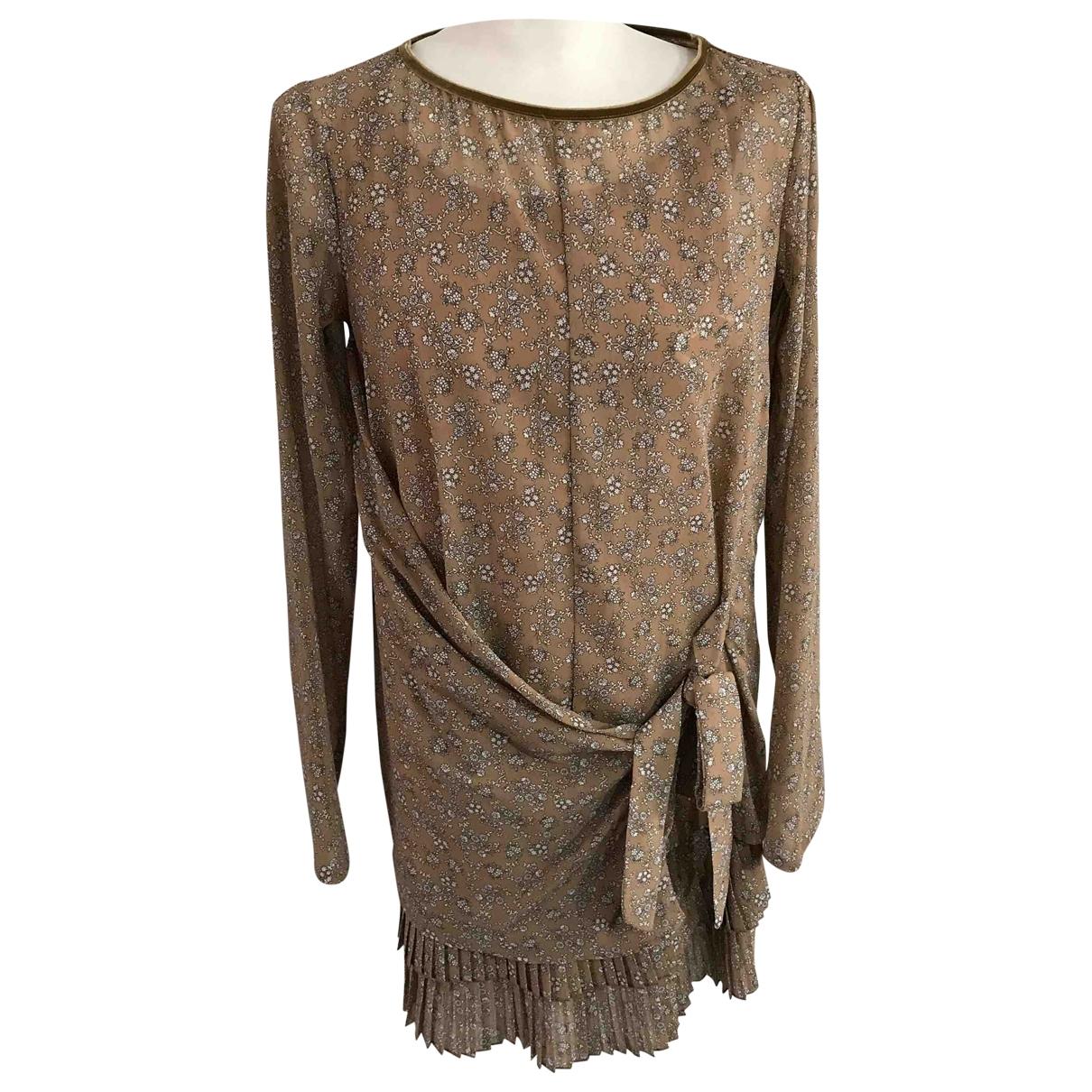 Twin Set - Robe   pour femme - beige