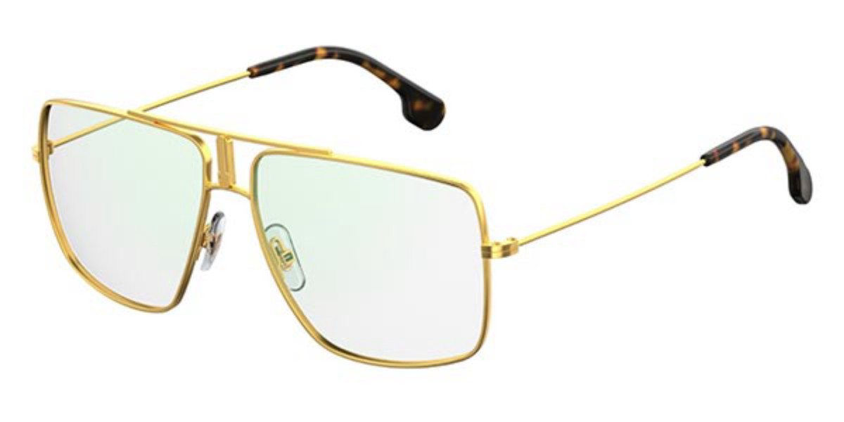 Carrera 1108 001 Men's Glasses Gold Size 58 - Free Lenses - HSA/FSA Insurance - Blue Light Block Available