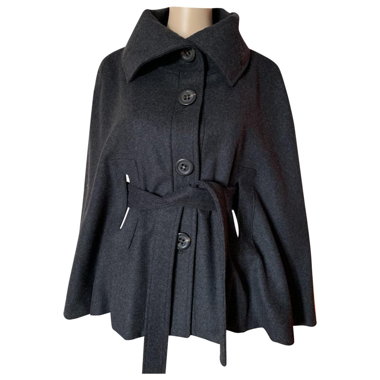 Alberto Biani - Manteau   pour femme en laine - gris