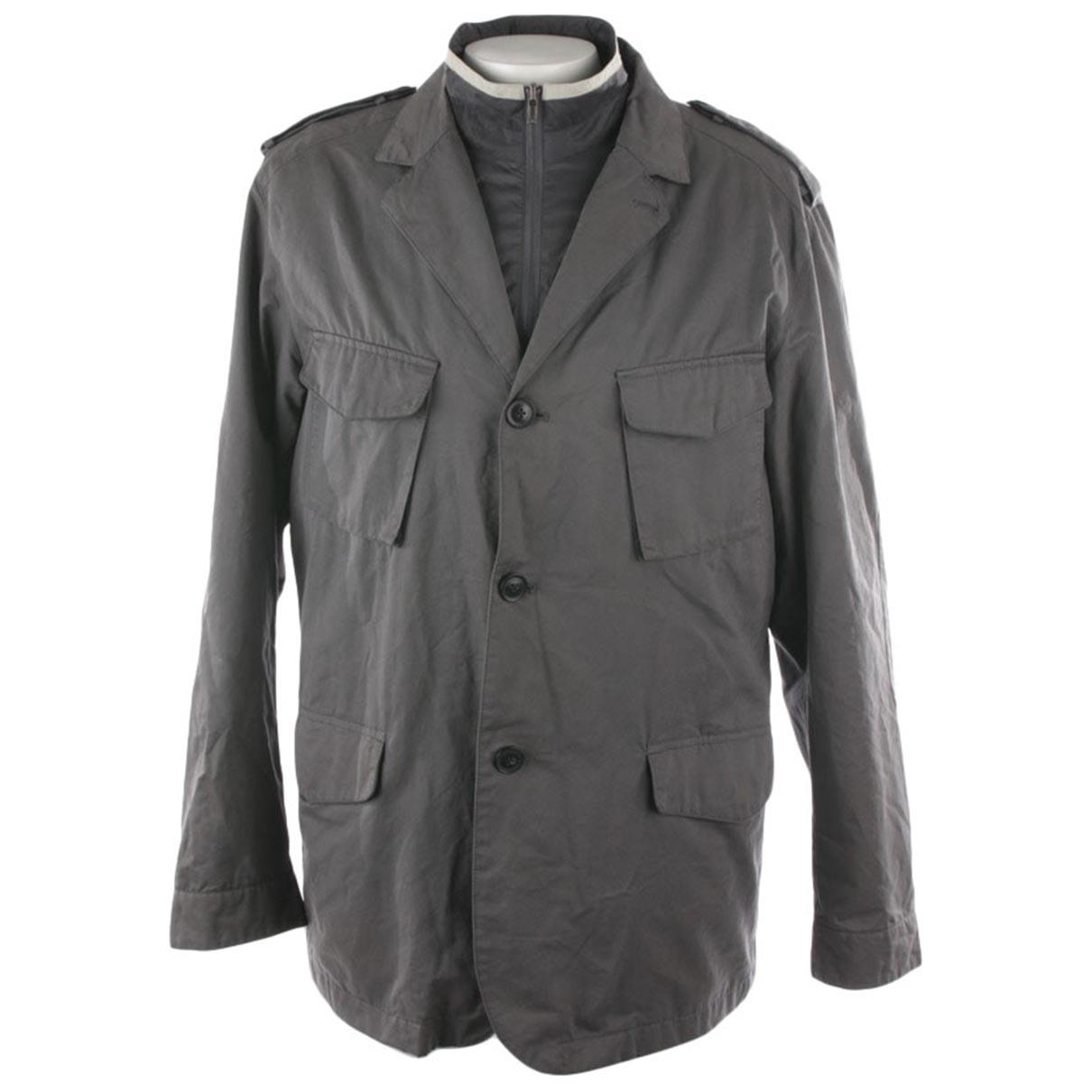 Ermenegildo Zegna \N Jacke in  Grau Leder