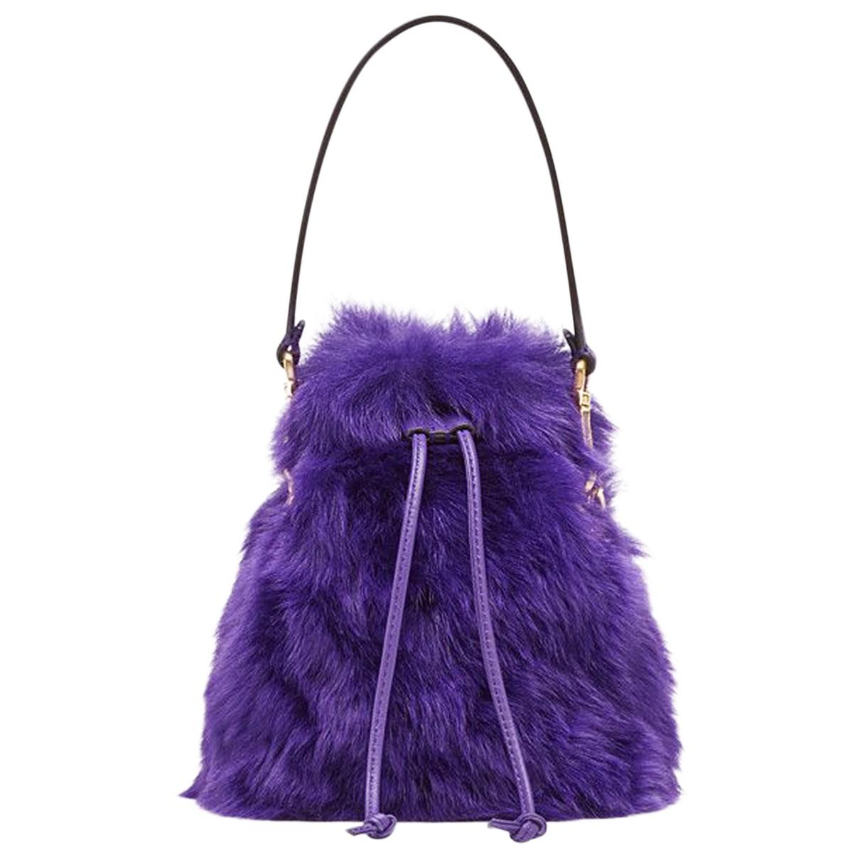 Fendi Mon Trésor Purple Leather handbag for Women N