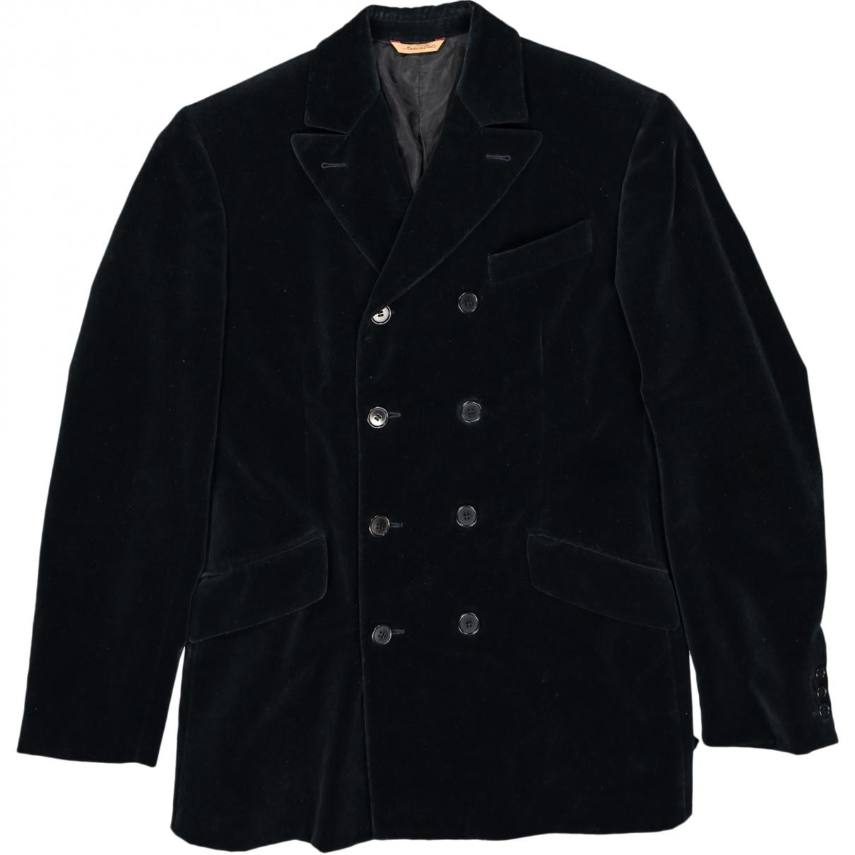 Romeo Gigli \N Blue Velvet jacket  for Men 48 IT