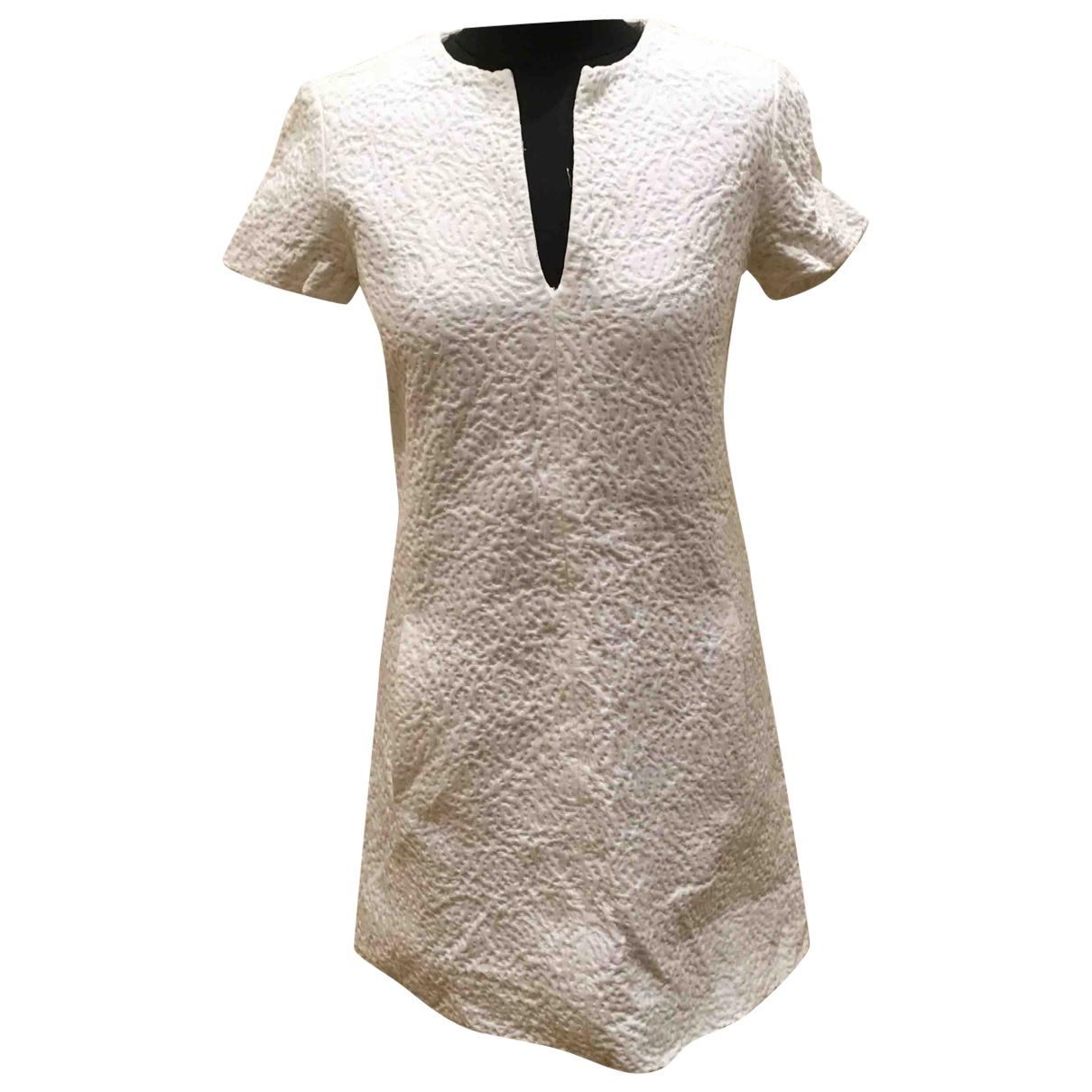 Balenciaga - Robe   pour femme en coton - blanc