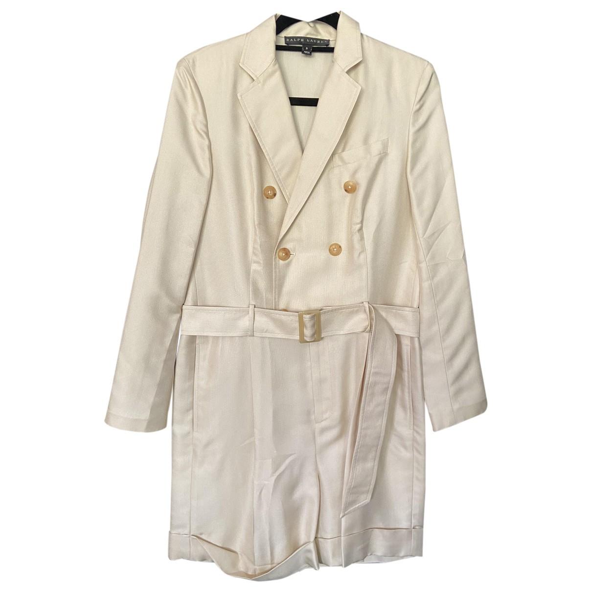Ralph Lauren - Combinaison   pour femme en soie - beige