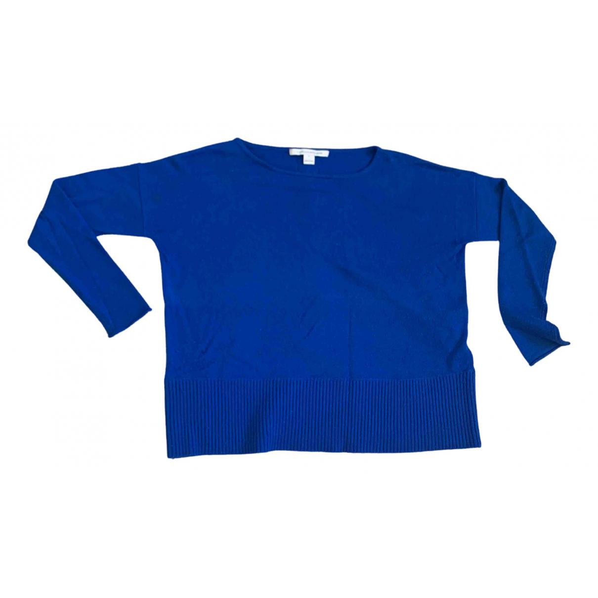Diane Von Furstenberg N Blue Wool Knitwear for Women XS International