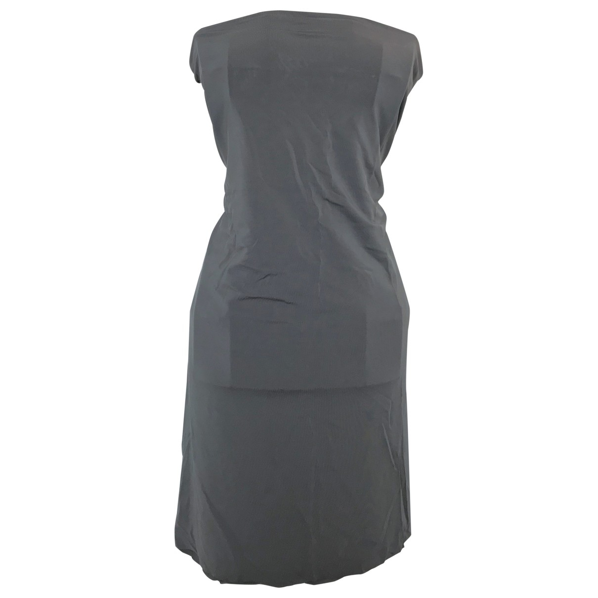 Calvin Klein \N Kleid in  Grau Synthetik