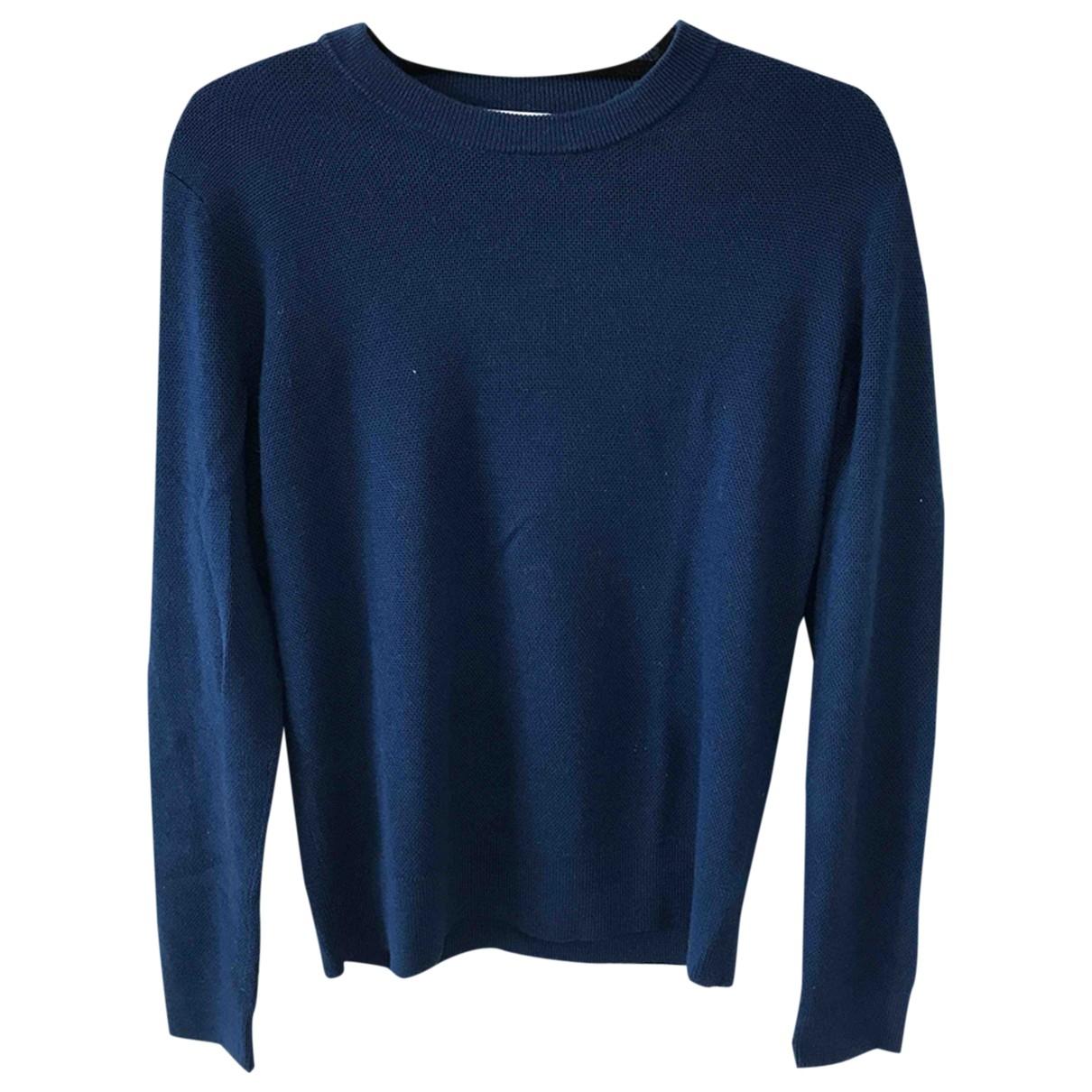 Sandro - Pulls.Gilets.Sweats   pour homme en laine - bleu