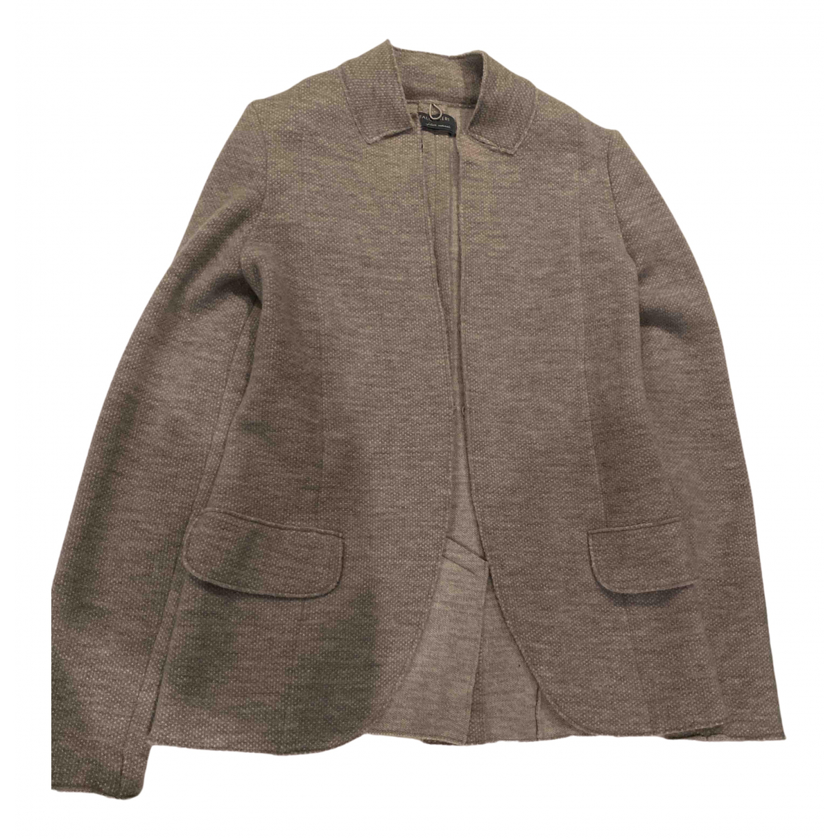Falconeri \N Jacke in  Beige Wolle