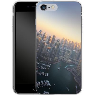 Apple iPhone 6s Plus Silikon Handyhuelle - Dubai Skyline von Omid Scheybani