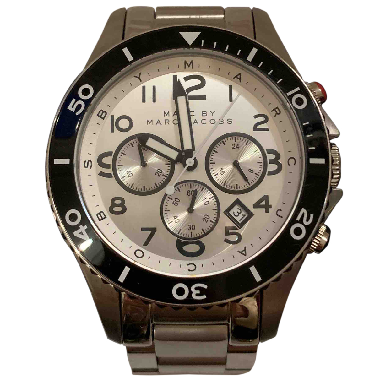 Marc By Marc Jacobs N Silver Steel watch for Women N
