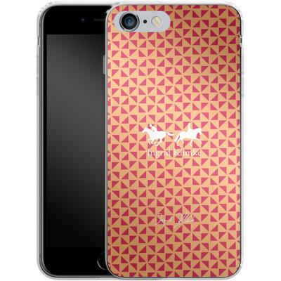 Apple iPhone 6s Plus Silikon Handyhuelle - Triangle Silhouette von Ingrid Klimke