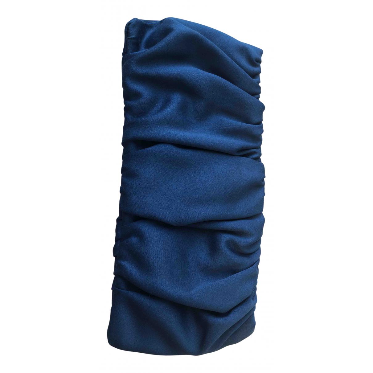 Bimba Y Lola \N Clutch in  Blau Polyester
