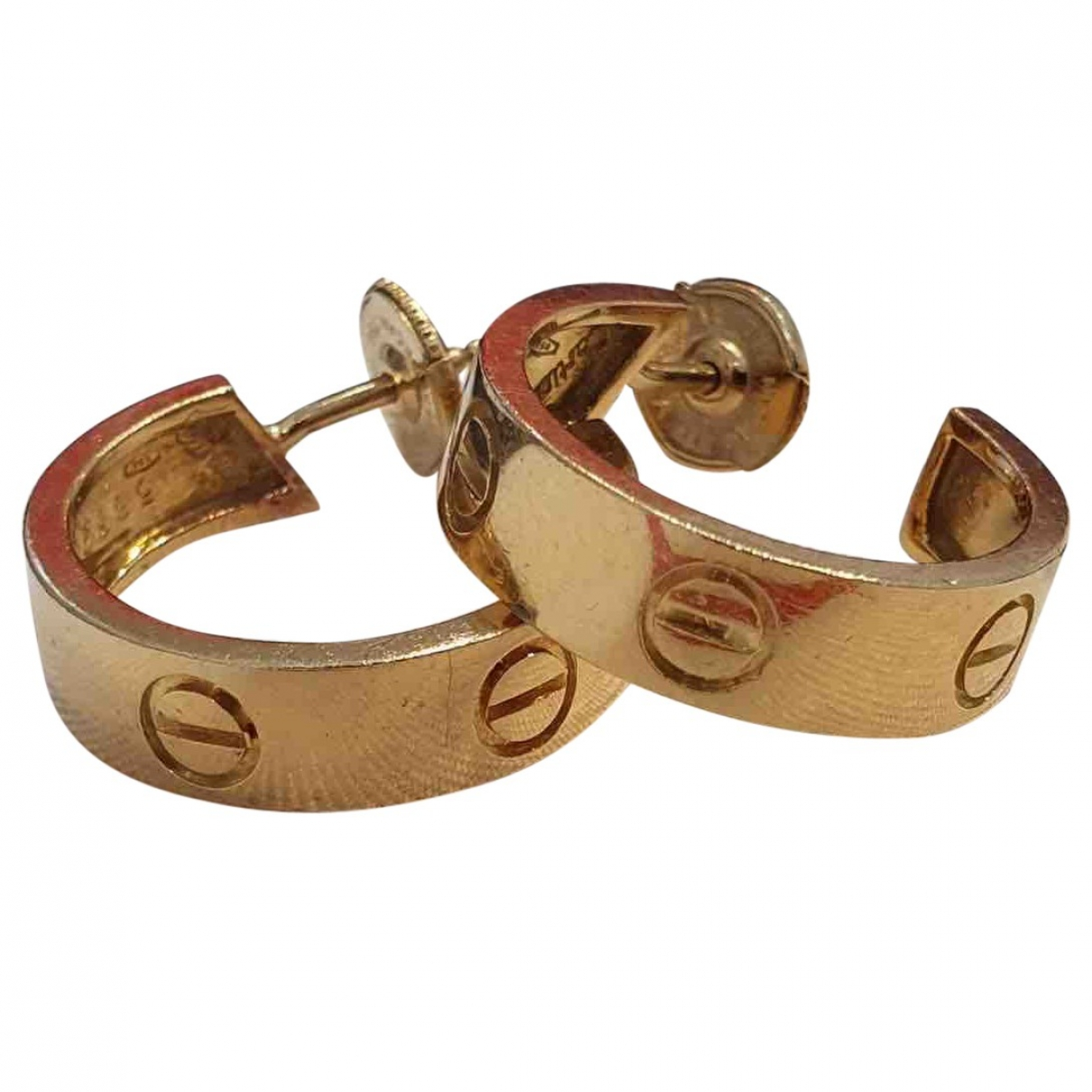 Cartier Love OhrRing in  Gold Gelbgold