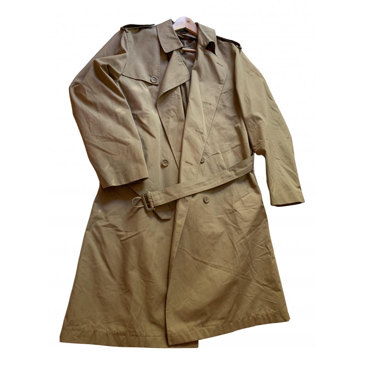 - Manteau   pour homme en toile - kaki