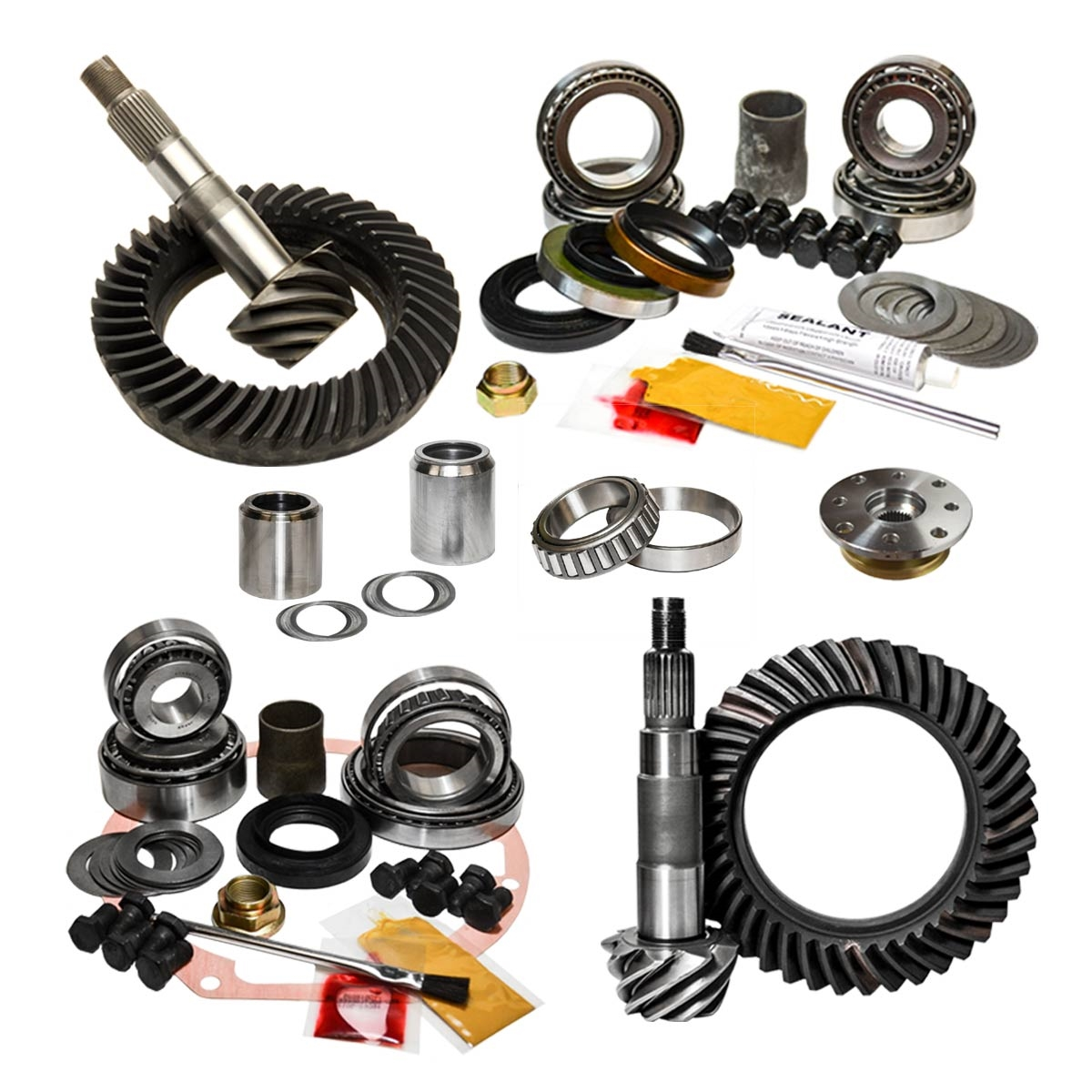 95 1/2-04 Toyota Tacoma 96-02 Toyota 4Runner 4.88 Ratio Front/RearGear Package Kit Nitro Gear and Axle