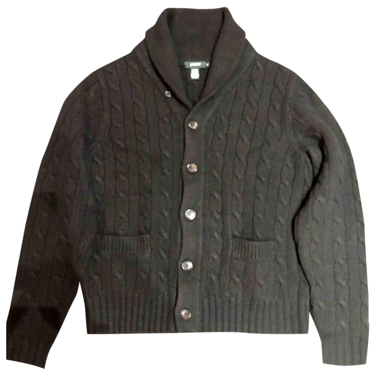 J.crew \N Pullover.Westen.Sweatshirts  in  Schwarz Wolle