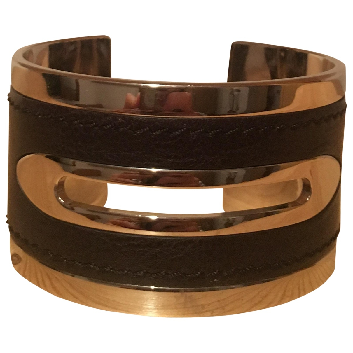 Tods \N Armband in  Braun Stahl