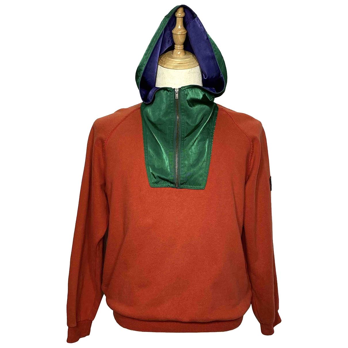 Cp Company \N Pullover.Westen.Sweatshirts  in  Rot Baumwolle