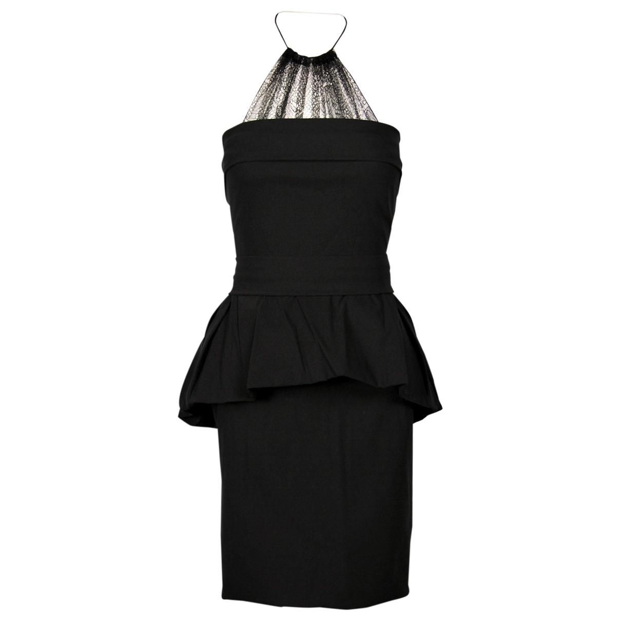 Preen By Thornton Bregazzi \N Kleid in  Schwarz Synthetik