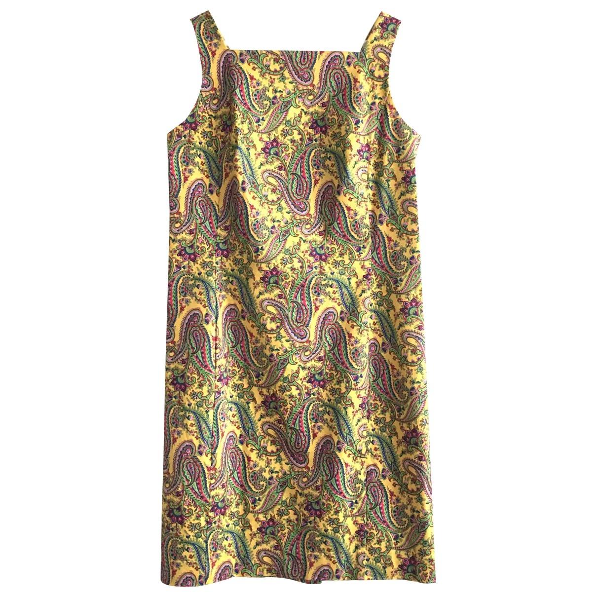 Lauren Ralph Lauren - Robe   pour femme en coton - elasthane - multicolore